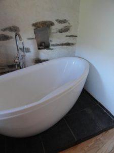 """Salle de bain de la Chambre d'hôte """"Prune"""""""